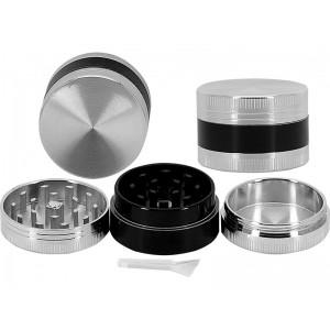Młynek do tytoniu Silver Metal 11006
