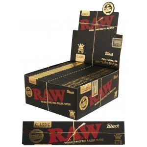 Bibułki RAW Black KS Slim