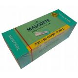 Gilzy papierosowe Mascotte Menthol 250szt.