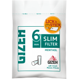 Filtry papierosowe Gizeh Slim Menthol