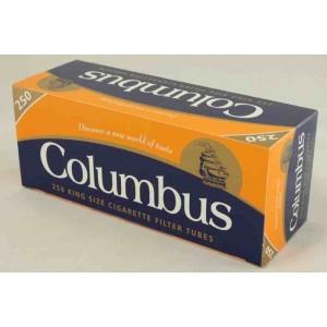 Gilzy papierosowe Columbus 250 szt.