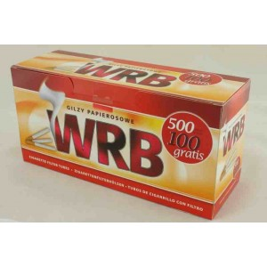 Gilzy papierosowe WRB 500 szt.