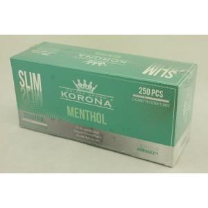 Gilzy papierosowe Korona Slim Menthol 250 szt.