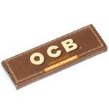 Bibułki OCB Virgin Brown Single