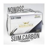 Gilzy papierosowe Korona Slim Carbon 120