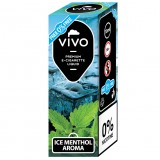 E-liquid VIVO Ice Menthol 0mg