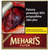 Cygaretki Meharis Filter Red Orient