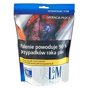 Tytoń papierosowy LM Blue 80g