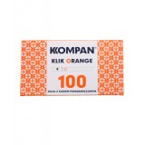 Gilzy papierosowe Kompan Klik Orange 100