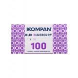 Gilzy papierosowe Kompan Klik Blueberry 100
