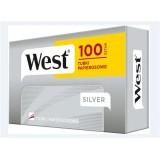 Gilzy papierosowe West Silver 100 szt.