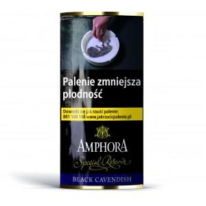Tytoń fajkowy Amphora Black Cavendish 40g