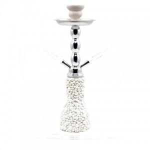 Fajka wodna Atomic Pearls White 45 cm 0230551