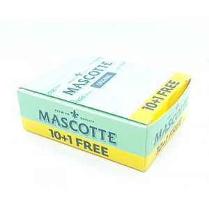 Bibułki Mascotte Original 10szt plus 1 gratis