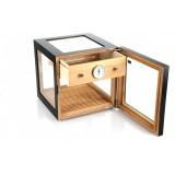 Humidor Adorini Cube Deluxe Black 11555