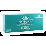 Gilzy papierosowe Korona Menthol De Luxe 200 szt.